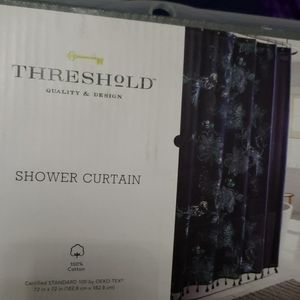 💥Brand New Threshold shower curtain